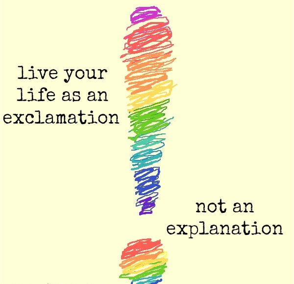 LIVING SUCCESS 3D--EXCLAMATION